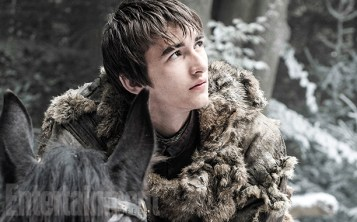 Exclusive photo of Isaac Hempstead-Wright aka Bran Starkfrom the new season of Game of Thrones